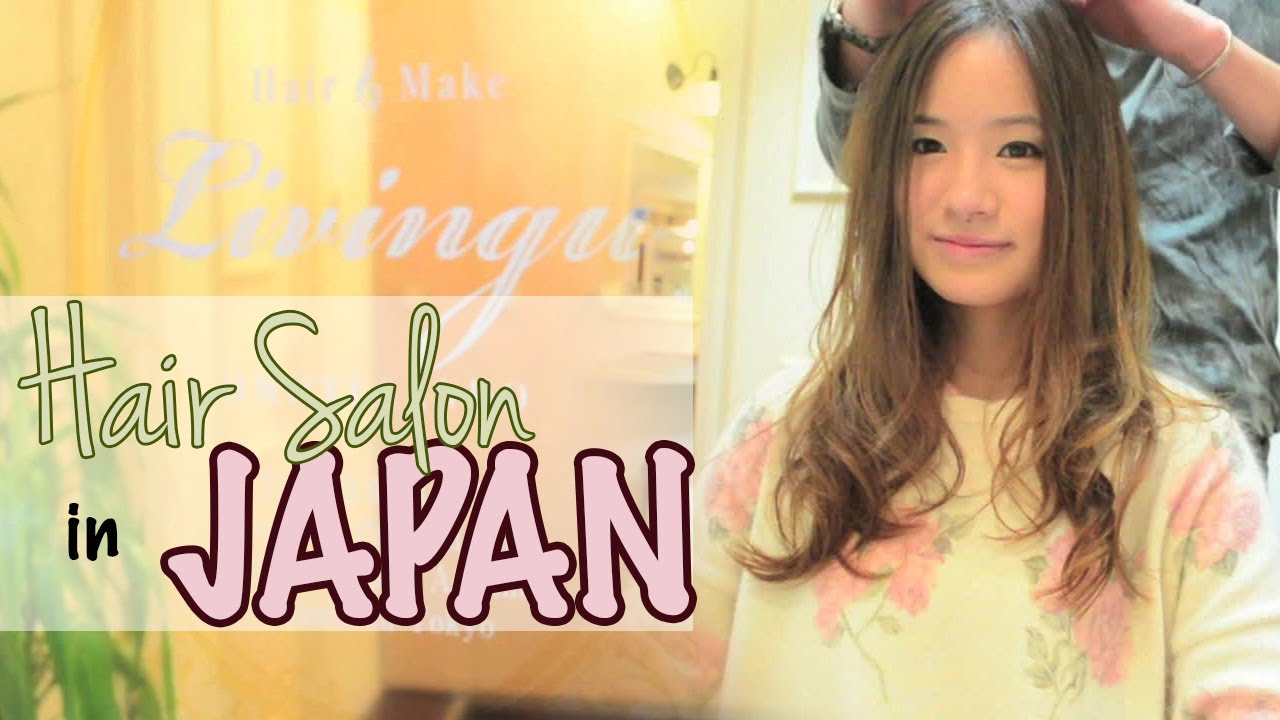 Japanese Hair Salon Experience Amp How To Book Youtube
