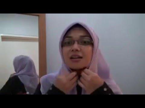 Cara Berhijab Baju Kerja Muslim