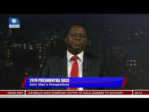 I Will Restructure Nigeria If Elected As President - John Gbor Pt.2 |Politics Today|
