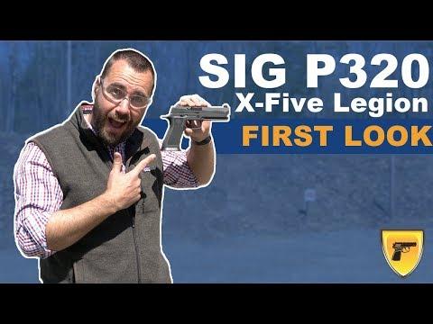 Sig P320 X-Five Legion Review [2019 + Video] - GunUniversity com