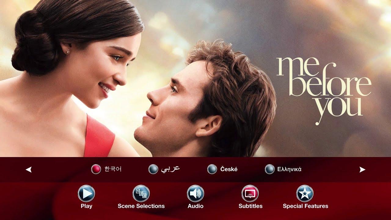 Download Me Before You(2016) Blu-ray Menu