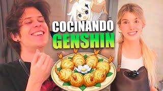 CHEF NORUEGO COCINA COMIDA DEL GENSHIN IMPACT