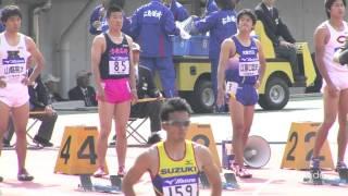 桐生祥秀 vs 山縣亮太 男子100m A決勝 織田記念陸上2013