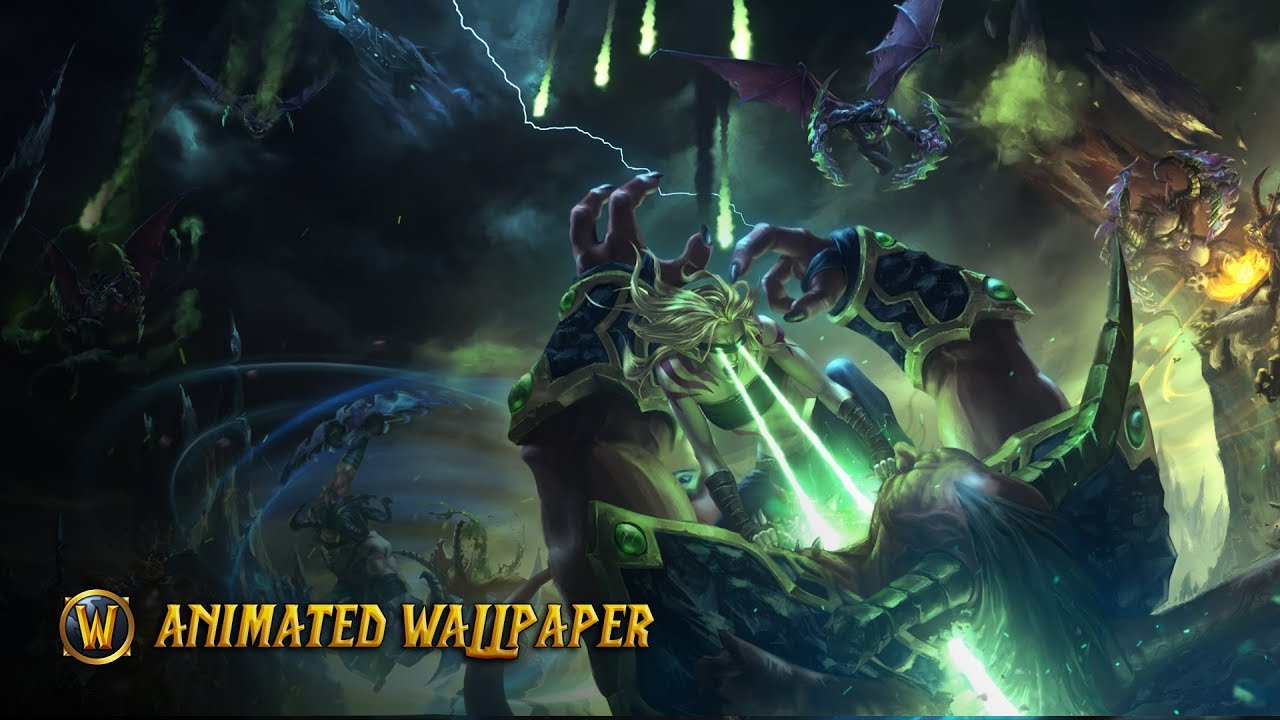 World Of Warcraft Wallpaper Bfa: Animated Wallpaper - YouTube