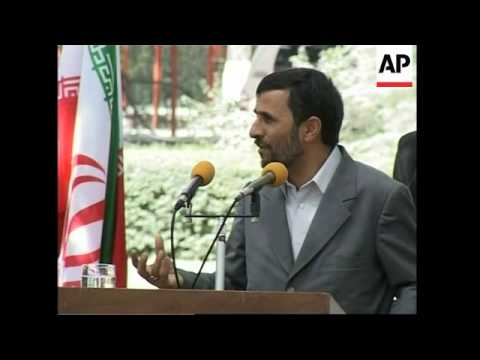 Iranian President Ahmadinejad makes first trip to Afghanistan, meets Karzai