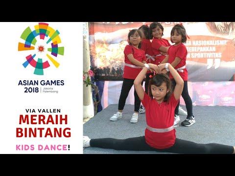 Free Download Keren!! Via Vallen Meraih Bintang - Kids Dance! Official Song Asian Games 2018 Mp3 dan Mp4