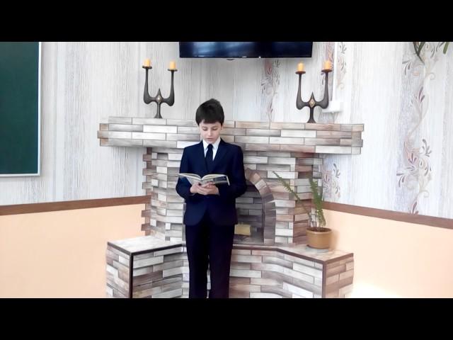 Изображение предпросмотра прочтения – ОльгаАнохина читает произведение «Крестьянские дети» Н.А.Некрасова