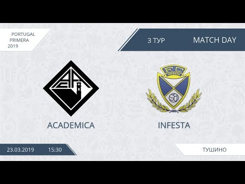 AFL19. Portugal. Primera. Day 3. Academica-Infesta