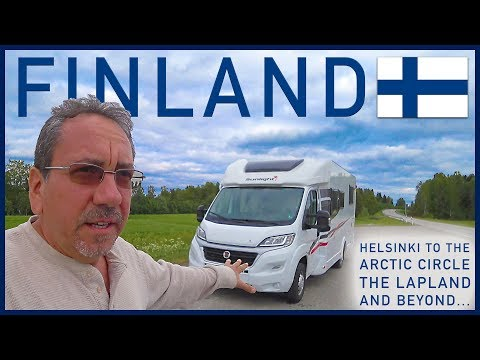 RVing in Finland: Road Trip to the Arctic Circle and Beyond - Traveling Robert