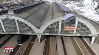 Остекление Львовского ЖД вокзал .Реализованный проект компании КарбоСнаб.(, 2016-07-01T14:12:19.000Z)
