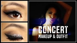 Going Out    CONCERT    Makeup Tutorial + Outfit Thumbnail