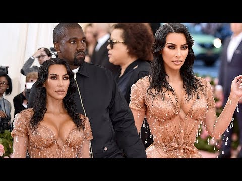 Met Gala 2019: Watch Kim Kardashian and Kanye West Arrive in Style!