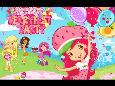 """Strawberry Shortcake Berryfest Casual Creativity Budge Android Gameplay Video"""""""