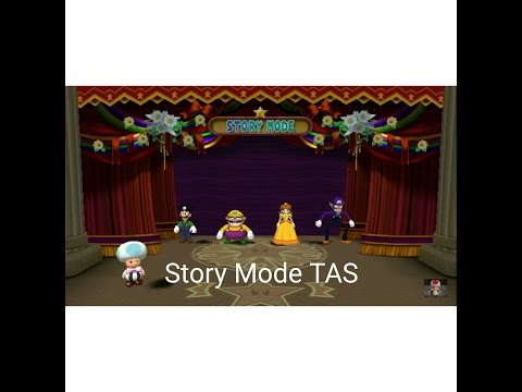 Mario Party 4 - Story Mode [TAS] [Action Replay Used]