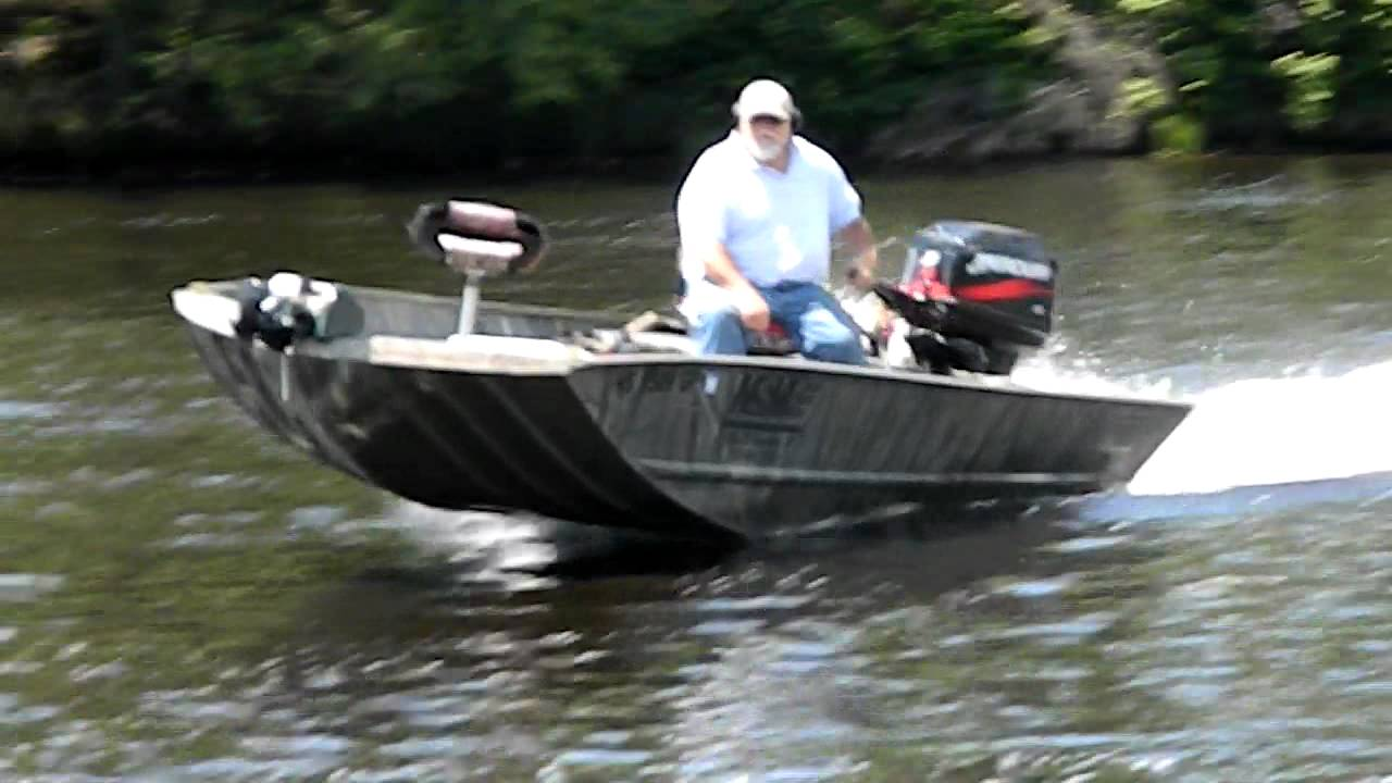 Mercury jet outboard wisconsin river youtube for Outboard motors for sale in wisconsin