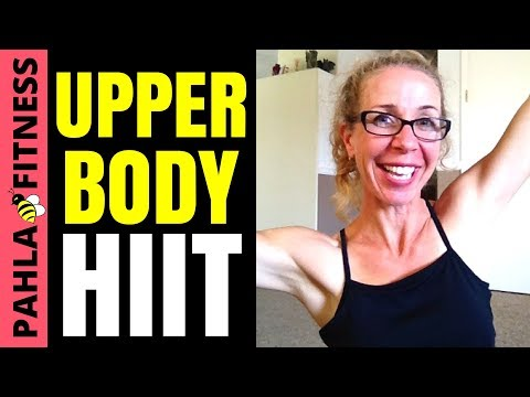 upper body hiit without weights  brutal 10 minute floor