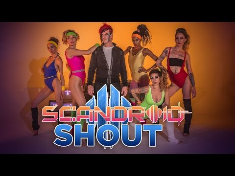 Scandroid - Shout (Tears For Fears Cover) [Official Music Video]