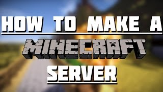 How to make a Minecraft Server! NO PORT FORWARDING NO HAMACHI