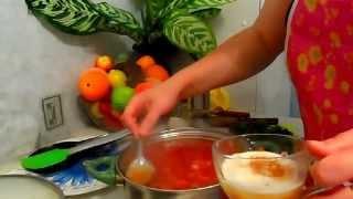 GVK : Суп Ботвинник (Свекольник), суп на ботве свеклы, суп со свеклой, выключили свет)))