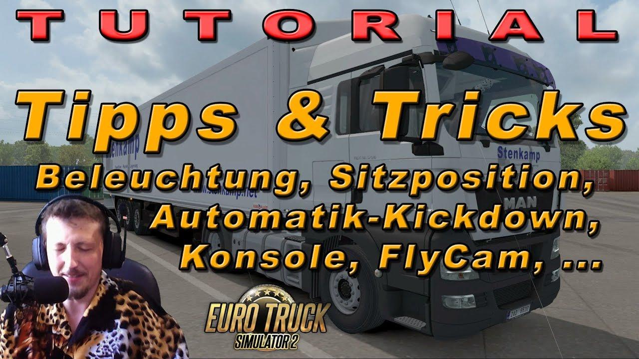 Tutorial 💥 Häufige Fragen, Tipps & Tricks - ETS2 | GERMAN