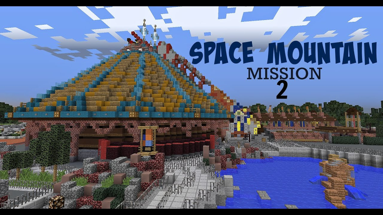 Space Mountain Mission 2 POV (Minecraft) - Hyperion Parks ...