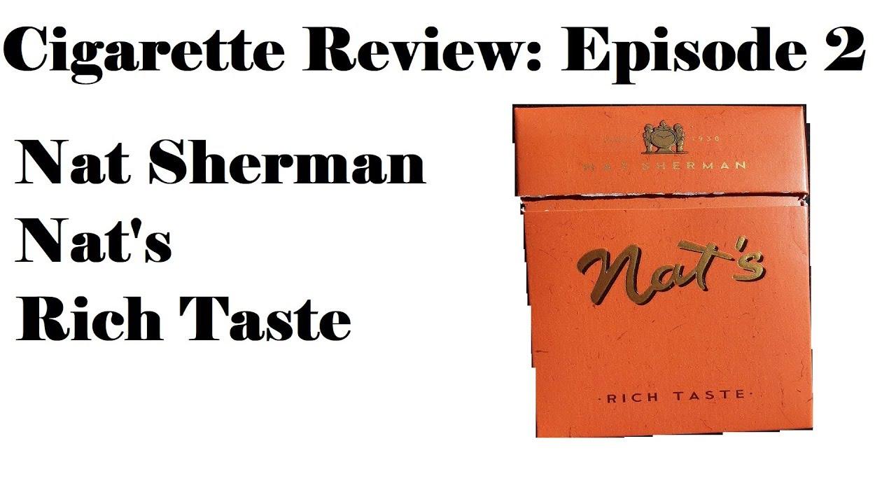 nat sherman nat s rich taste cigarette review episode 2 youtube