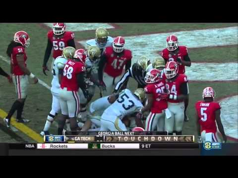 Tech-Georgia 2014 - Overtime w/ Georgia Radio Call