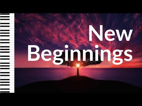 NEW BEGINNINGS • PianoMessage #01 • Worship Instrumental Music, Prayer Music, Piano Music