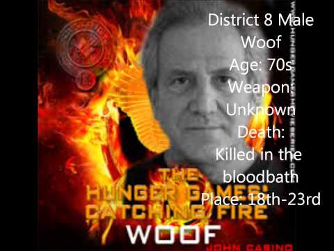The 75th Hunger Games Tributes info