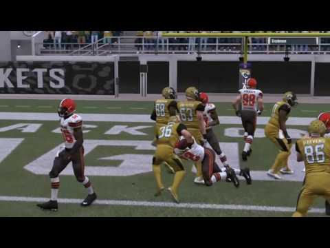 HB Brandon Davis Rookie Highlights PX1Sports