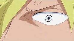 Sanji sacrifice himself for Nami,Brook and Chopper(episode 764)
