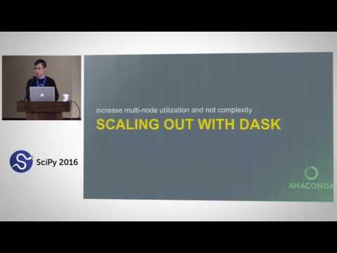 Scaling Up and Out  Programming GPU Clusters with Numba and Dask | SciPy 2016 | Siu Kwan Lam