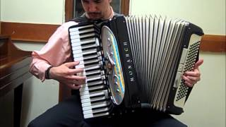 The Ocean on His Shoulders (BioShock) [accordion cover]