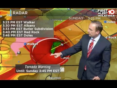 Albany Tornado 1/22/2017 - WALB Live Local Coverage