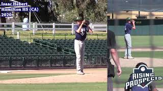 Isaac Hebert - Updated Baseball Highlights - Class of 2020