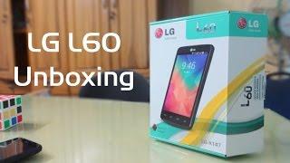 LG L60 Unboxing