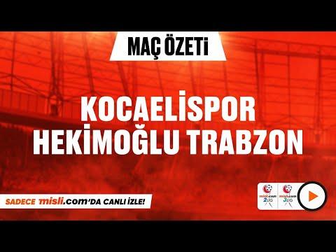 14.01.2021 | Kocaelispor 1-1 Hekimoğlu Trabzon | Mislicom 2 Lig - Mislicom 3 Lig