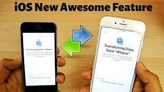 New iOS Wireless data migration feature | how to transfer data from old iPhone to new iPhone?