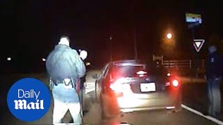 White cop to black driver: 'I don't care about your people' - Daily Mail
