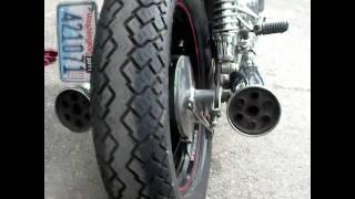 Suzuki GS450 --- Exhaust Sound
