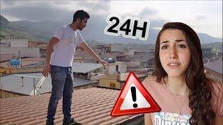 ABBIAMO PASSATO 24 ORE SUL TETTO!! *24h challenge*