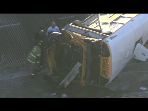 Houston school bus crash