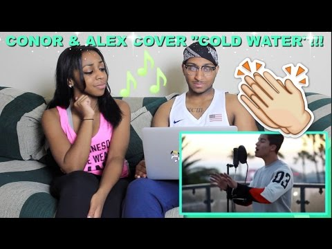 """Couple Reacts : Conor Maynard Covers Major Lazer """"Cold Water"""" Reaction!!"""