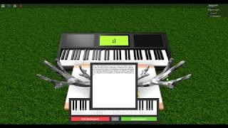Roblox Piano Cover: Ruth B-Lost Boy || PART 1