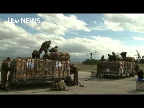 Syria: ITV News gains rare access to Russian airbase