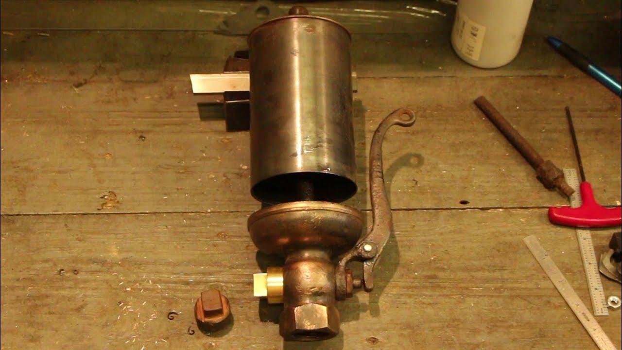 Repairing a Steam Whistle for the Steam Powered Sawmill