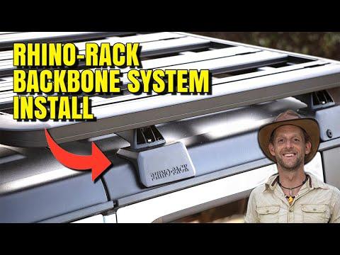 Rhino-Rack Backbone System Install for Overland Jeep Wrangler / Gladiator – DIY / How To
