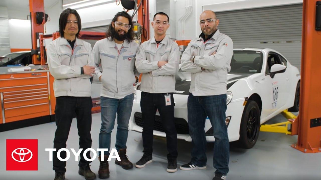Toyota Engineers Work Hard, Play Hard   Toyota Racing