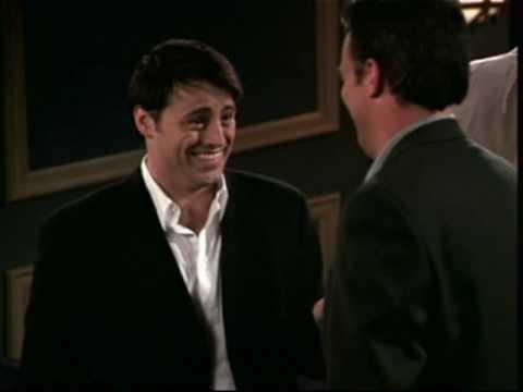 Chandler Falls Asleep at Joey's Movie