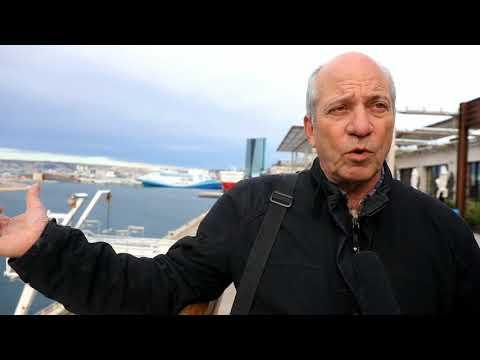 Marseille Polution au port